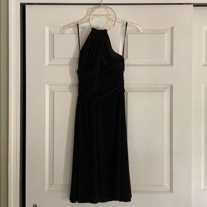 Laundry Shelli Segal Black Halter Dress